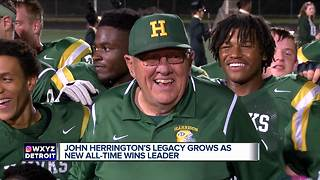 John Herrington's legacy grows as new all-time wins leader - Video