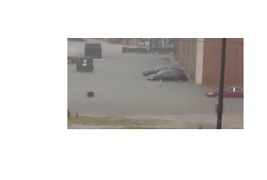 Flash Flooding Swamps New Orleans Streets - Video