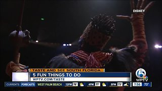 5 fun things to do this weekend