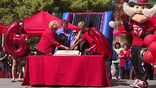 UNLV celebrates 60th birthday - Video