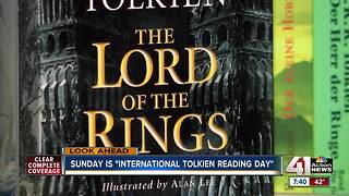 Local group celebrating 'Tolkien Reading Day' - Video