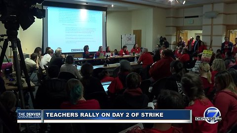 DCTA discusses latest counter-proposal made to DPS as teacher strike continues