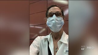 Fort Myers woman returns home after close call with coronavirus