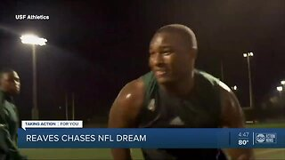 Former USF star Greg Reaves chases NFL dreams
