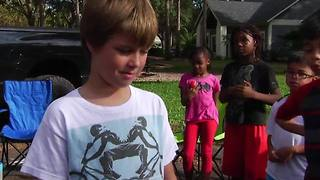 9-year-old Florida boys' lemonade stand robbed - Video