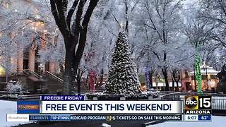 Free holiday events happening in Valley - Video