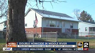 Police ID man and woman found dead in Middle River home