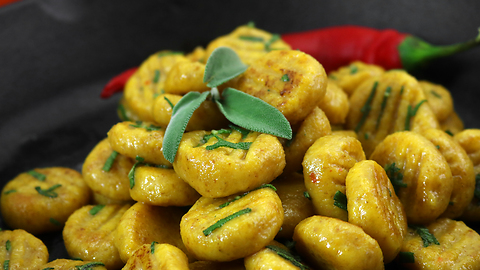 Learn how to make Pumpkin Gnocchi!
