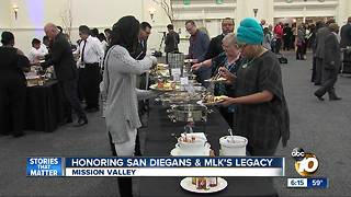 Honoring San Diegans & MLK's legacy - Video