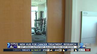 New cancer treatment and research center opens soon in Baltimore - Video