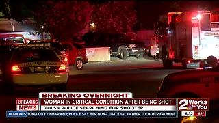 Woman shot in the head isn't expected to survive - Video
