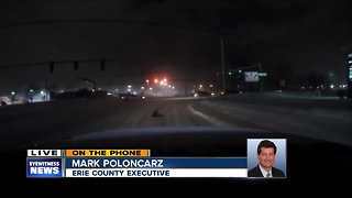 11pm interview with Erie County Executive Mark Poloncarz