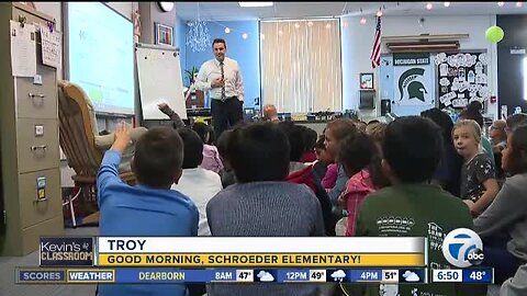 Kevin's Classroom: Good morning Schroeder Elementary