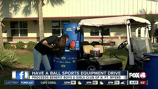 13-year-old Cape Coral student starts sports equipment drive to help classmates in need - Video