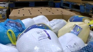 Food bank seeks donations for Thanksgiving meals - Video