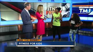 Fitness Friday: Fitness for kids - Video