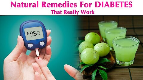 7 Effective Natural Remedies For Treating Diabetes At Home