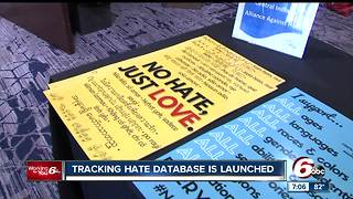 Central Indiana organization launches hate crime database - Video