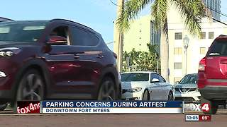Parking concerns during ArtFest - Video