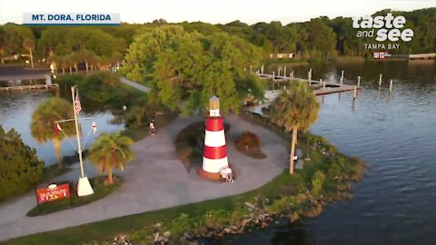 Experience a relaxing getaway in Mt. Dora, Florida | Taste and See Tampa Bay