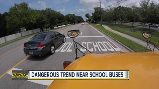 Top locations drivers pass stopped school buses in Pinellas County - Video