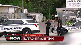 Tampa Police investigating fatal shooting - Video