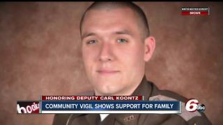 Community vigil marks two years since Howard County Deputy Carl Koontz was killed in the line fo duty - Video