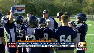 Edgewood football coach diagnosed with cancer