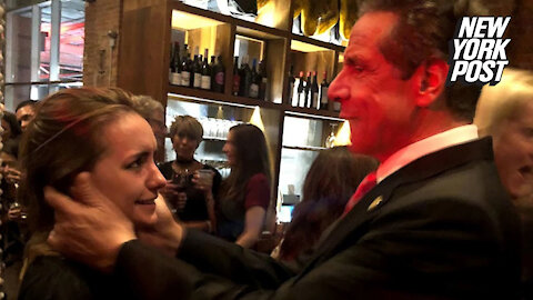 Andrew Cuomo accused of making unwanted advances at wedding