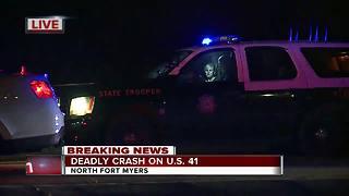 Deadly crash in North Fort Myers - Video