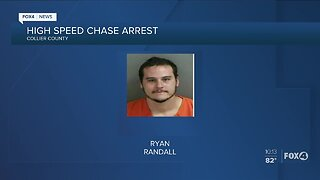High speed chase arrest in Collier County
