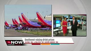 Southwest Airlines raising drink prices