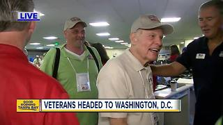 Honor Flight West Central Florida sends veterans to Washington D.C.