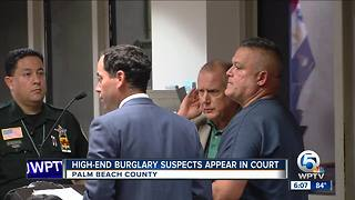 3 men charged in high-end home burglaries in Palm Beach County
