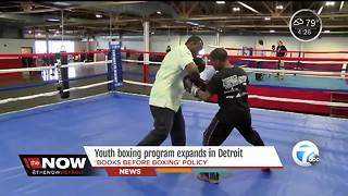Youth boxing program expands in Detroit - Video