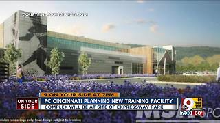 FC Cincinnati plans training facility - Video