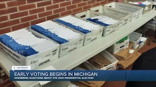 7 UpFront: Plymouth Township Clerk Jerry Vorva talks early voting