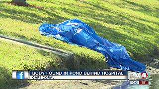 Body Found in Pond Behind Hospital