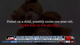 Daycare provider arrested and facing child abuse charges