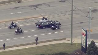 Procession for Deputy Jacob Pickett - Video