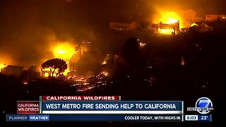 Colorado sending firefighters to California - Video