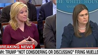 Sarah Sanders: Trump isn't considering firing Robert Mueller - Video