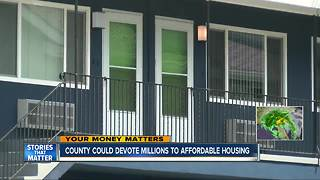 $25 million could help boost affordable housing in San Diego - Video