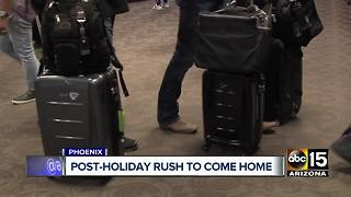 Millions rush to travel home post-holiday weekend - Video