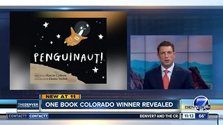 "One Book Colorado winner revealed as ""Penguinaut"""