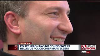 Bellevue Police union has 'no confidence' in Chief Mark Elbert - Video