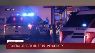 Toledo police officer shot and killed, suspect found dead