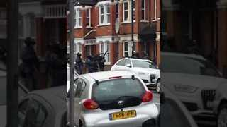 Woman Shot During Counter-Terror Raid on London Home - Video