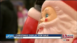 Massive Christmas display sale in La Vista warehouse - Video