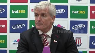 Mark Hughes on Peter Crouch getting an England recall - Video